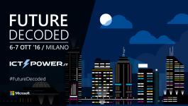 Future Decoded Milano ICT Power