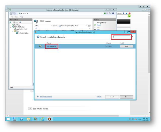 Configurazione di un Reverse Proxy con IIS | ICT Power