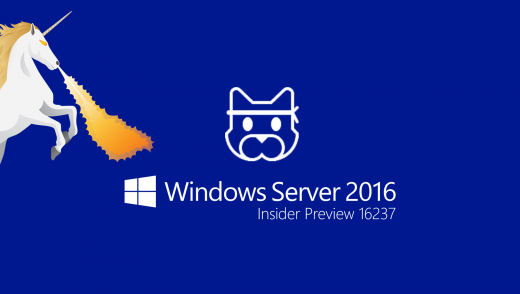 Windows Server - Insider Preview 16237