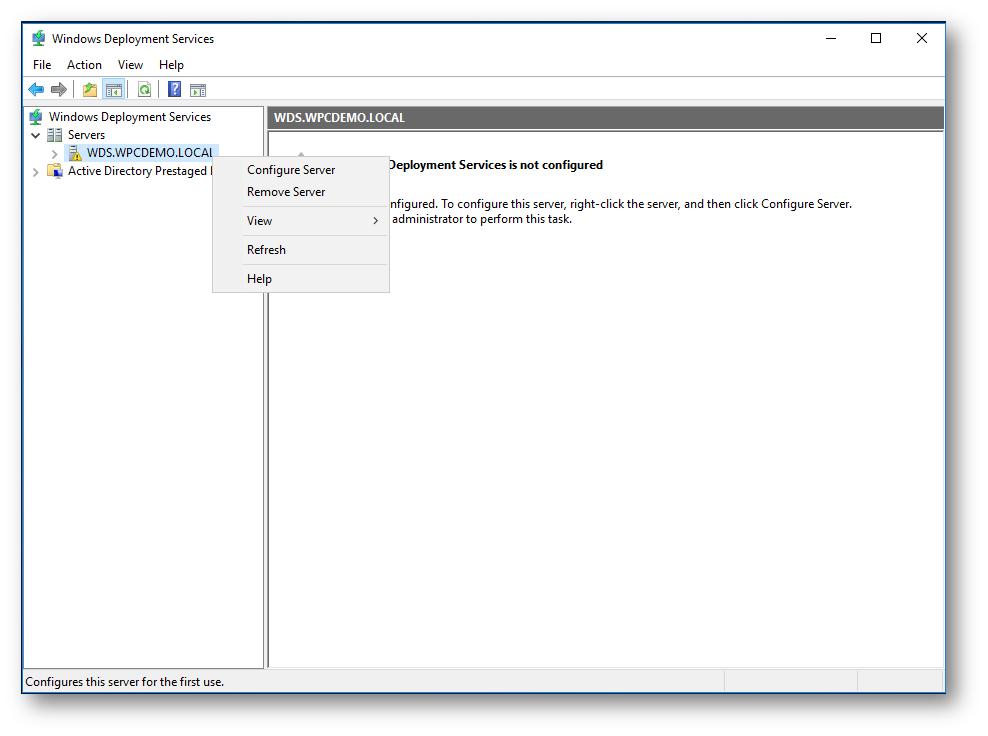 Implementare Windows Deployment Services in Windows Server