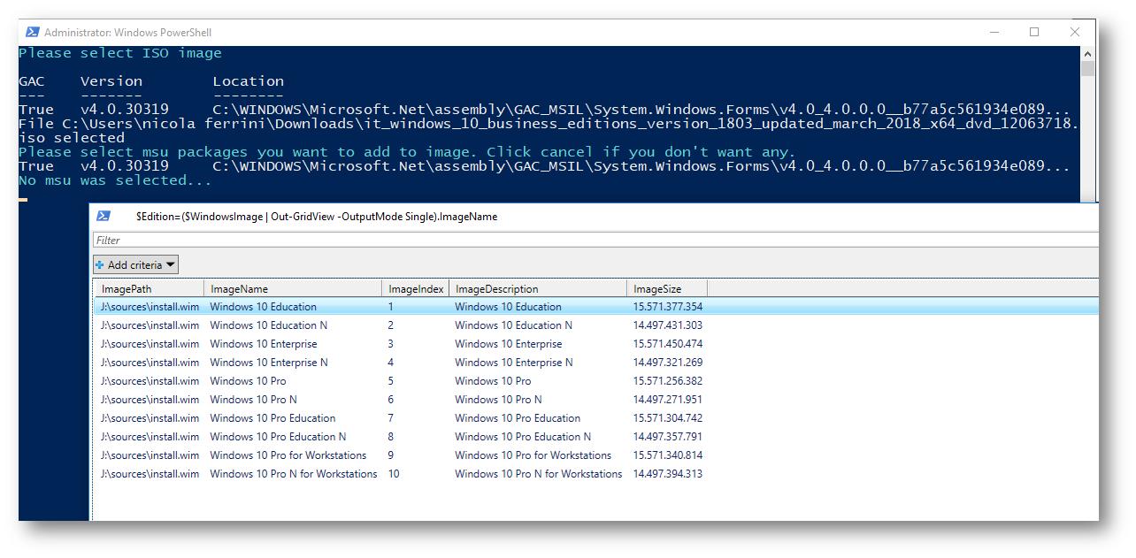 Creare rapidamente laboratori di test per Windows 10, Windows Server