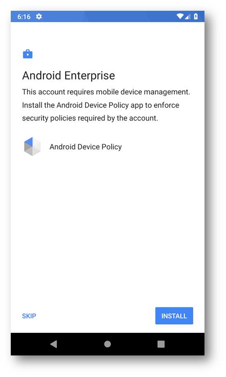 Microsoft Intune – Gestione dei dispositivi Android